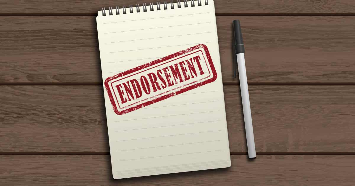 email endorse